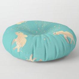 ELEPHANT - GOLD MINT Floor Pillow