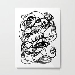 Flowing Chaos Metal Print