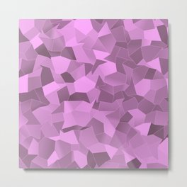 Geometric Shapes Fragments Pattern bp2 Metal Print
