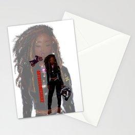 Lady Rider - JA Zoom Version Stationery Cards