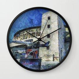 Besiktas Stadium Art Wall Clock