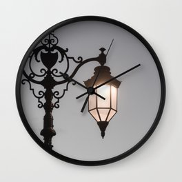 Victorian Lantern Wall Clock