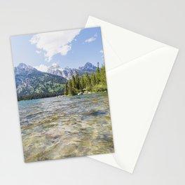 Alpine Lake Stationery Cards