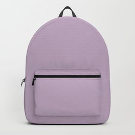 WISTERIA PURPLE pastel solid color Backpack