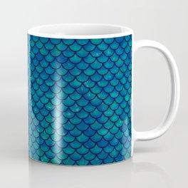 Mermaid scales iridescent sparkle Coffee Mug
