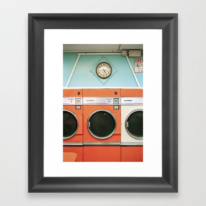 Laundry Gerahmter Kunstdruck