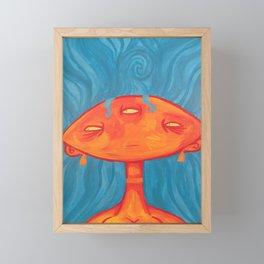 Fish Woman Framed Mini Art Print