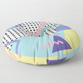 Memphis Pattern 5 - 80s - 90s - Retro Floor Pillow