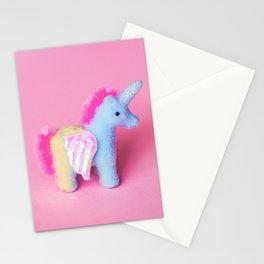 Fuzzy Unicorn Stationery Cards
