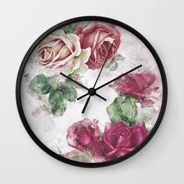 Beauty rose 02 Wall Clock