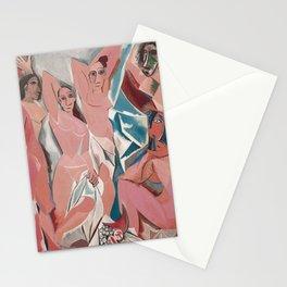 Les demoiselles d'Avignon - Pablo Picasso - Art Poster Stationery Cards