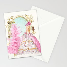 Marie Antoinette Christmas Stationery Cards