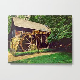 Gristmill - Charlottesville, Virginia Metal Print
