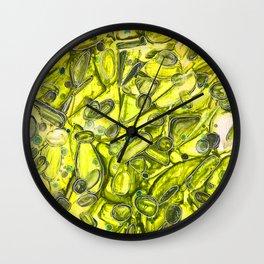 River Rock in Sunshine  Wall Clock