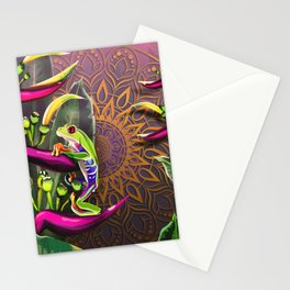 Red Eyed Tree Frog Stationery Cards