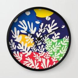 Matisse Cutout Wall Clock