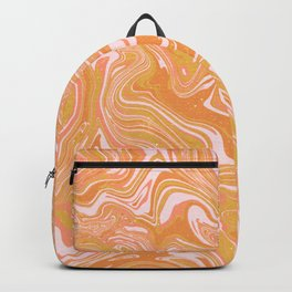 psychedelic sunrise Backpack