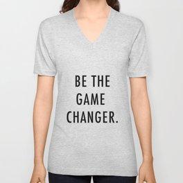 Be the game changer Unisex V-Neck