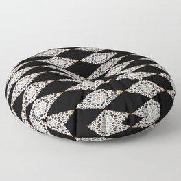 Moroccan mosaic Floor Pillow