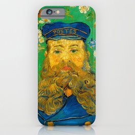 Vincent van Gogh - Portrait of Postman iPhone Case