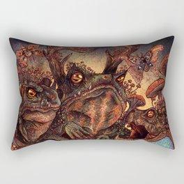 The Owl Princess And Her Night Terrors Rectangular Pillow