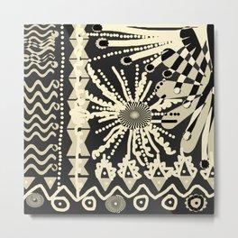 AFRICAN GARDEN TTY N4 Metal Print