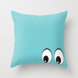 Eyes on You! Throw Pillow