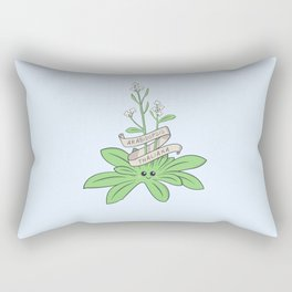 Cute Arabidopsis thaliana plant Rectangular Pillow