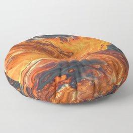 Lava Art Floor Pillow