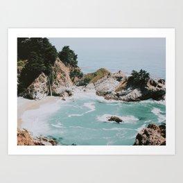 big sur / california Kunstdrucke