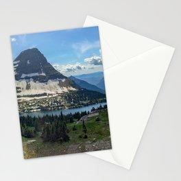 Hidden Lake at Logan Pass Stationery Cards