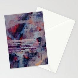 disquiet twenty two (crack of the bones) Stationery Cards