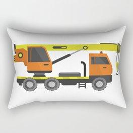 crane truck Rectangular Pillow