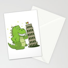 Monster Sights Dinosaur Fan Gift Stationery Cards