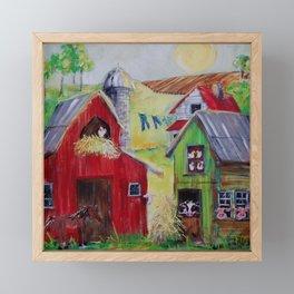 Whimsical Farm Framed Mini Art Print