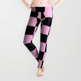 Checkered (Black & Pink Pattern) Leggings