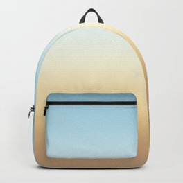 beach color gradient Backpack