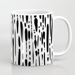 Ice Melt Black and White Coffee Mug