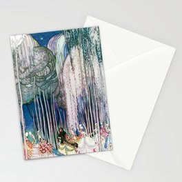 Kay Nielsen - Twelve Princesses Who Get Out Of The Castle And Dance To The Magical Kingdom Stationery Cards