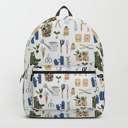 Kitchen Garden Pattern Backpack