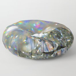 Rainbow Diamonds Floor Pillow