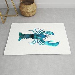 Blue Lobster Rug