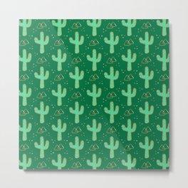 Cacti Fields Metal Print