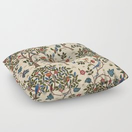 "William Morris ""Kelmscott Tree"" 1. Floor Pillow"