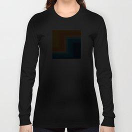 Retro 70s Color Lines Langarmshirt