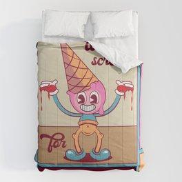 Ice cream killa Comforters
