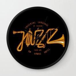 Jazz Trumpet Wall Clock