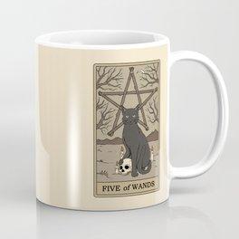 Five of Wands Coffee Mug