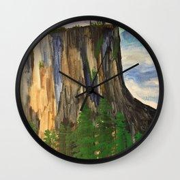A climbers high Wall Clock