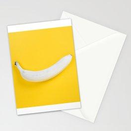 White Banana Stationery Cards